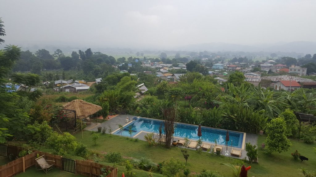 Room with a View in Hsipaw