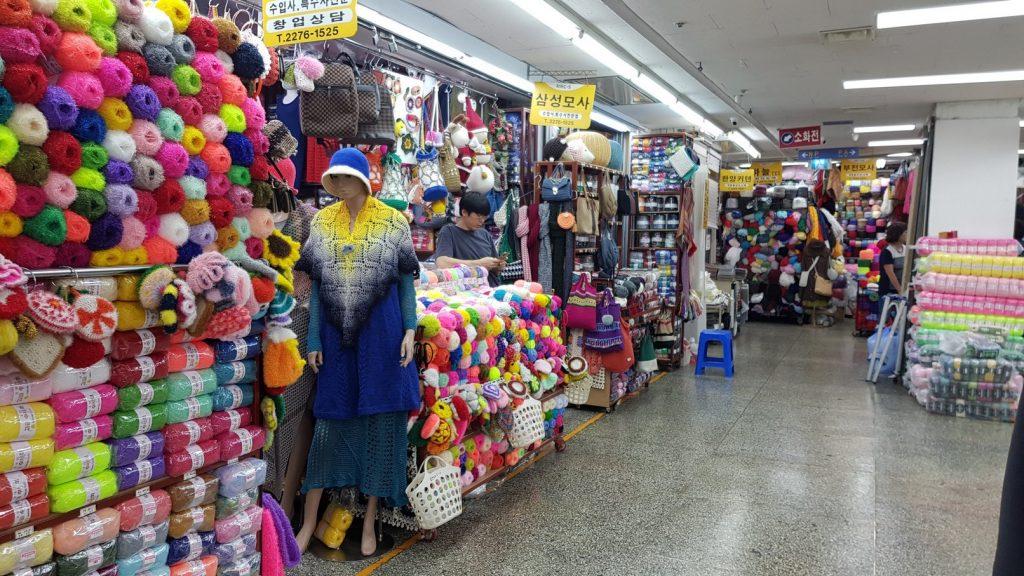 Too many Shops at Dongdaemun