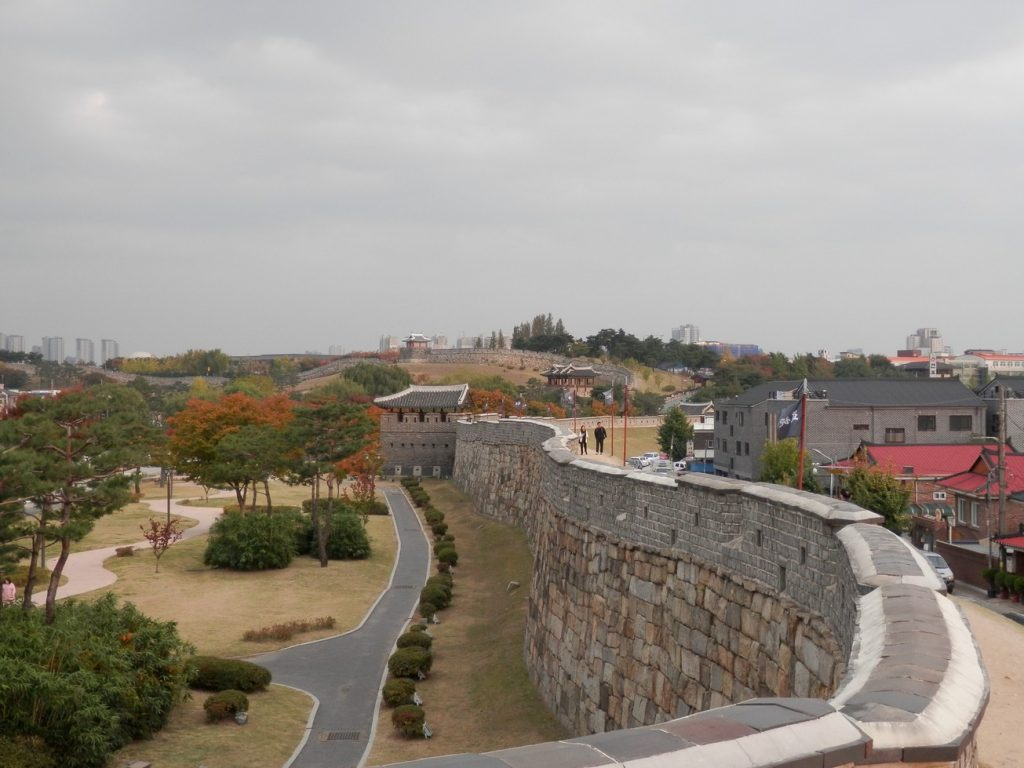 Fortress Wall in Suwon