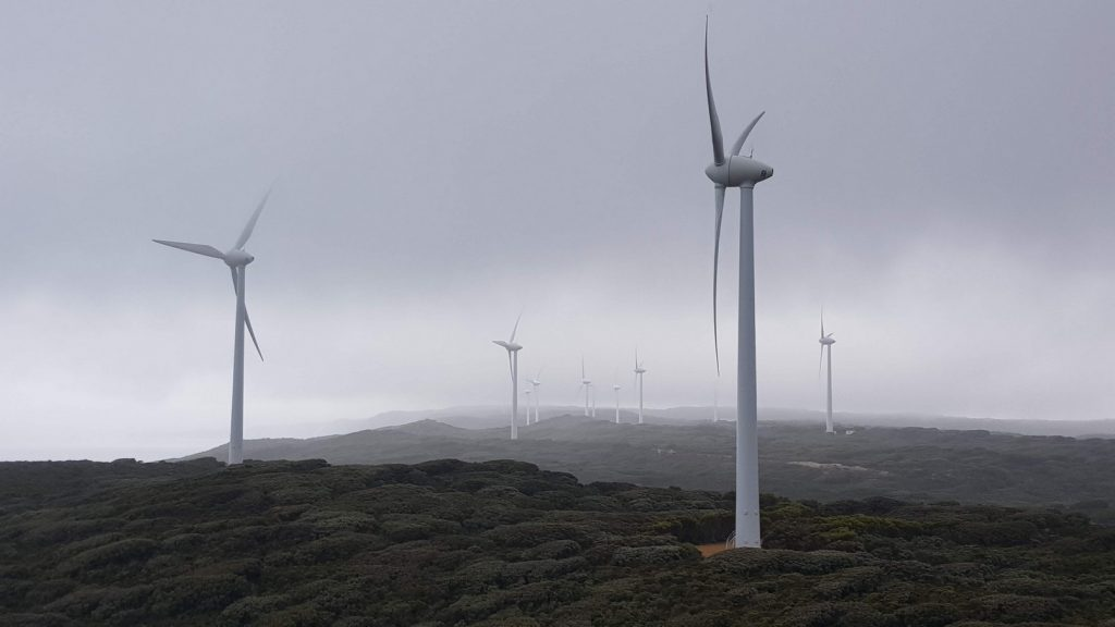 Windfarm near Albany