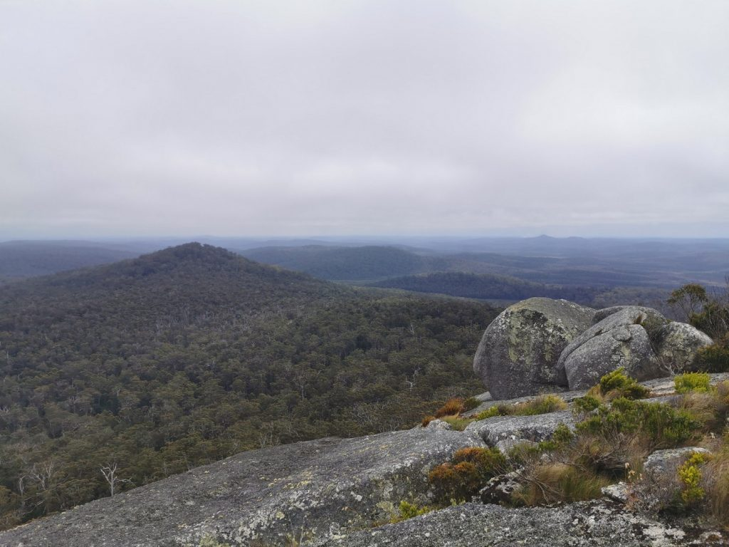 Grogeous View from Mt. Frankland