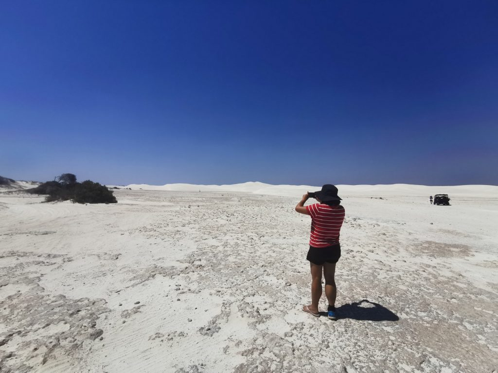 Sand Dunes at Lancelin
