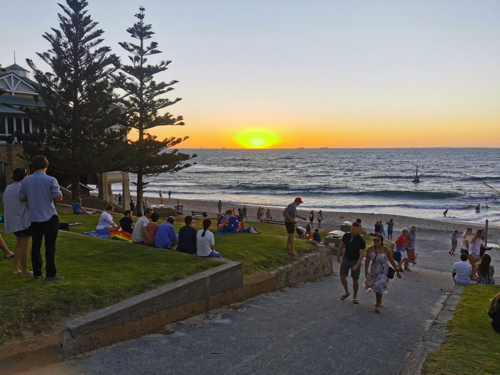Sunset in Cottesloe