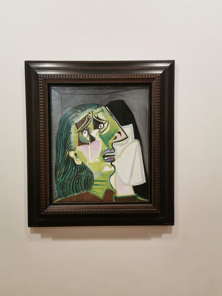 Green Picasso at NGV