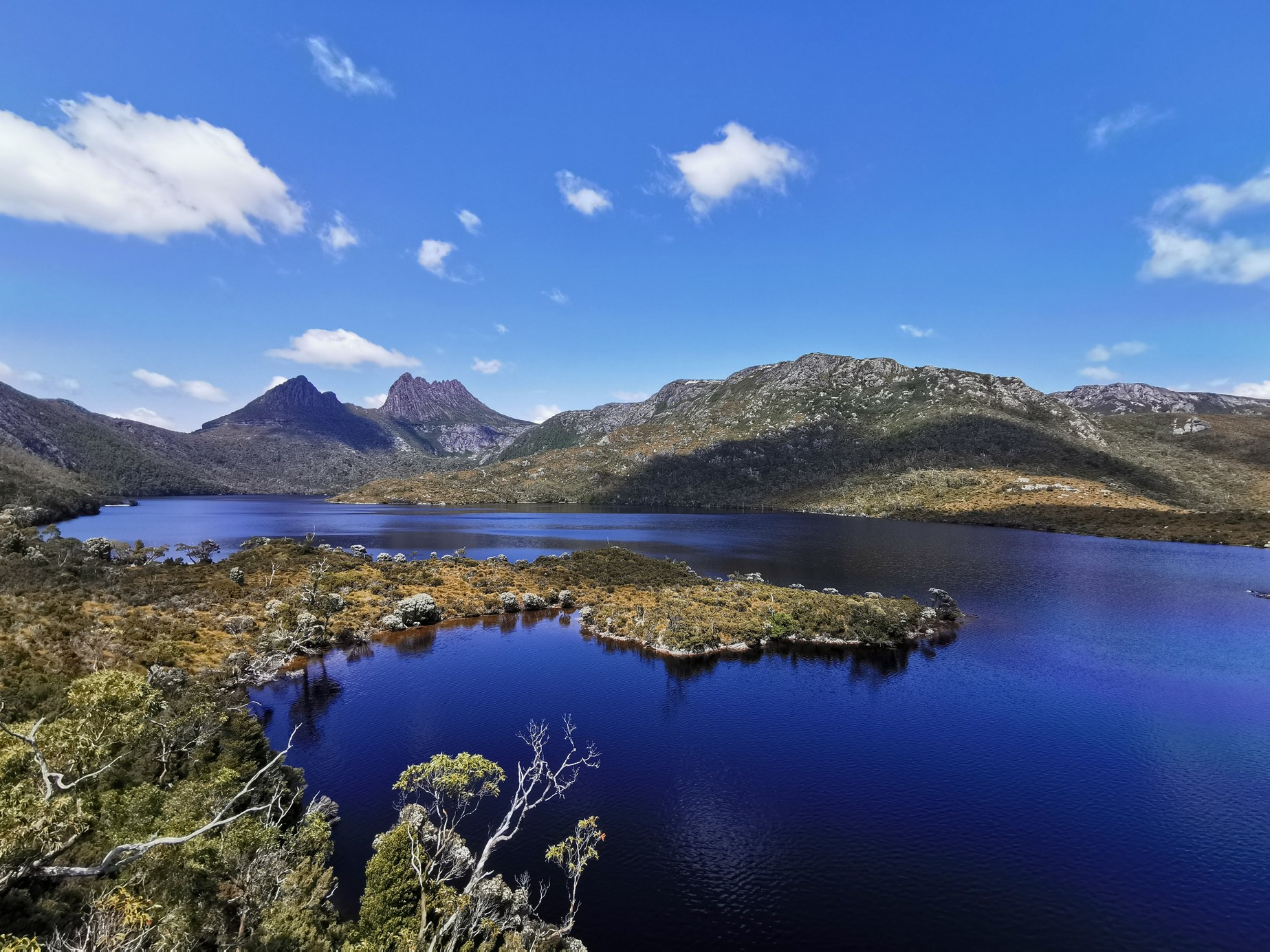 Beautiful Dove Lake at Cradle Mountain National Park