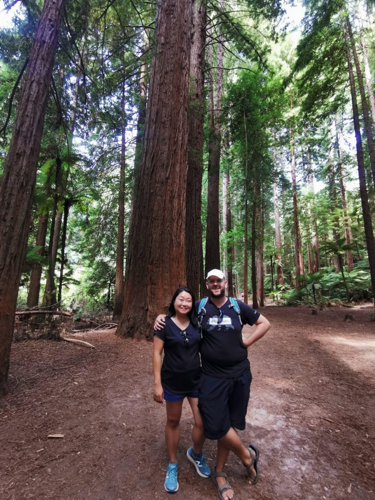 Us at the Redwood Forest