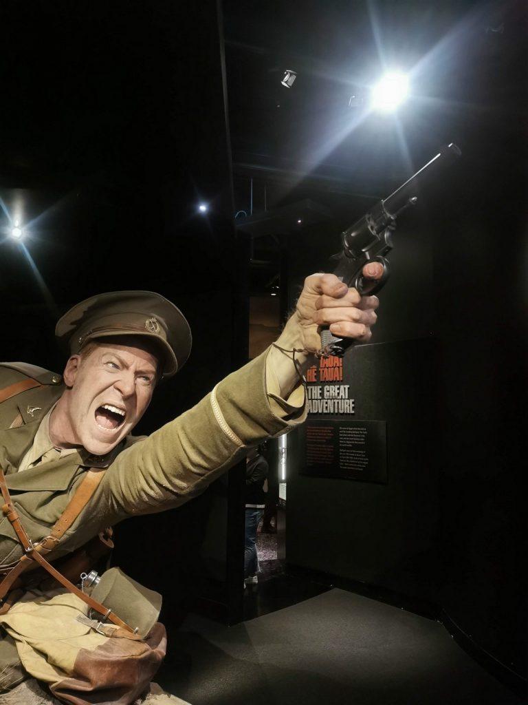 Bigger than Life Figure at Te Papa - Museum of New Zealand